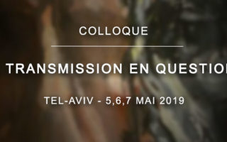 Colloque – La transmission en question(s)