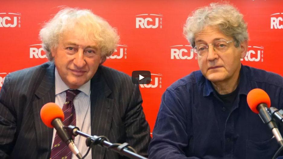 Georges Bensoussan et Michel Gad Wolkowicz sur RCJ