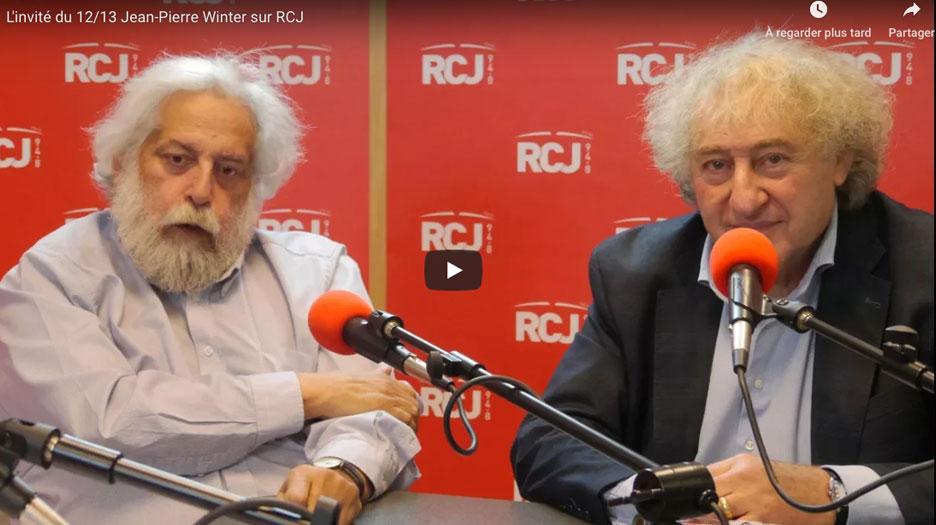 Jean-Pierre Winter, psychanalyste et écrivain reçu par Jean Birenbaum et Michel Wolkowicz