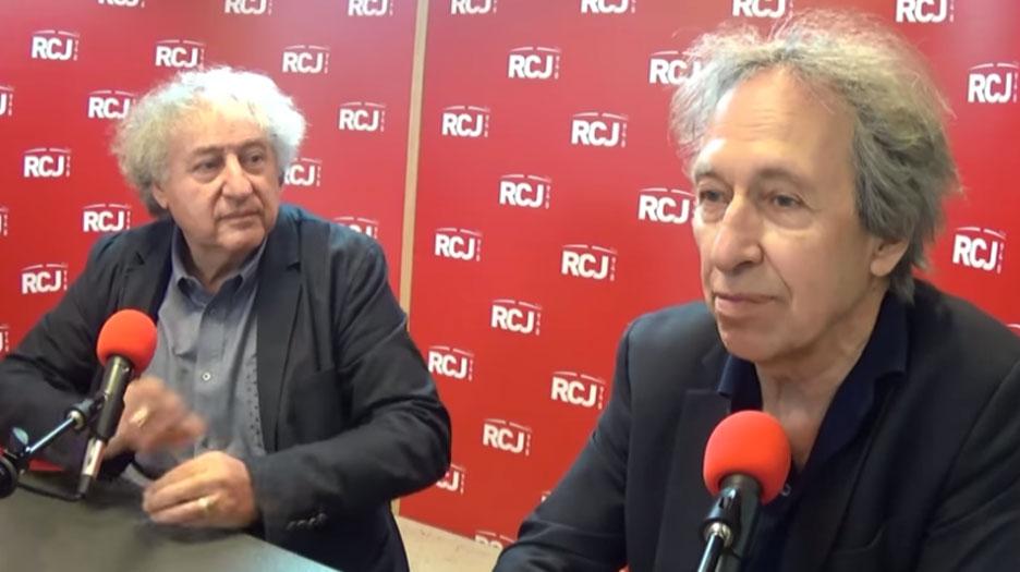 Pascal Bruckner, au micro de Michel Wolkowicz et Jean Birenbaum