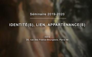 Retrouvez la séance du séminaire du 9 janvier 2020 en vidéo sur Akadem : «IDENTITÉ(S), LIEN, APPARTENANCE(S)»