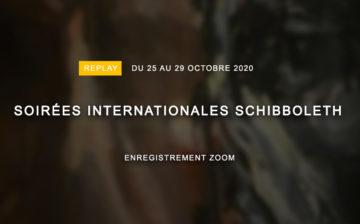 Soirées Internationales Schibboleth – Session 16