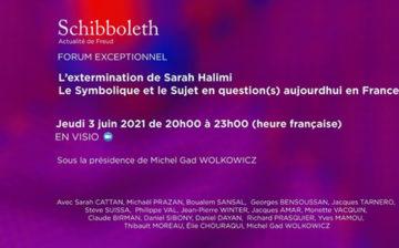 REPLAY : Forum exceptionnel – L'extermination de Sarah Halimi